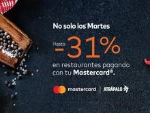 Malecón con hasta -31% pagando con Mastercard